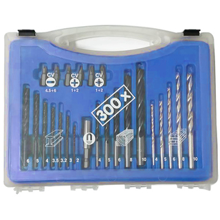 300Pcs Combination Drills Set