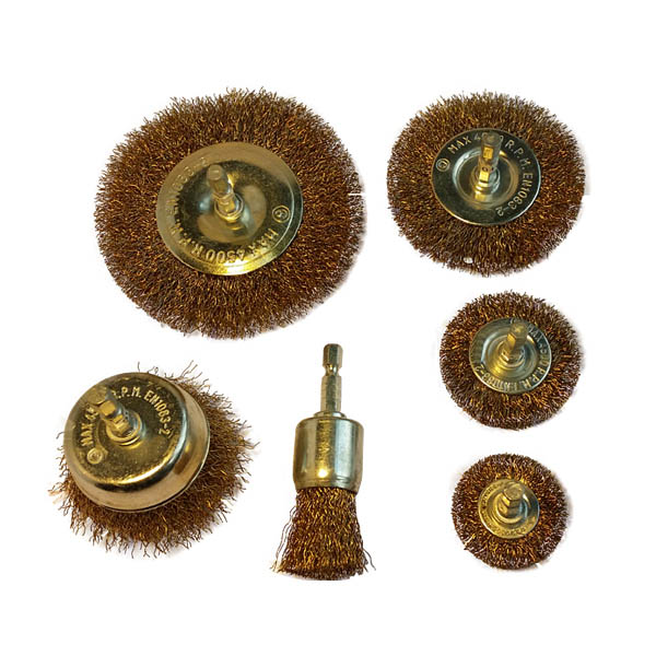 Steel Wire Brush Set