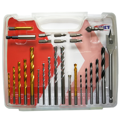 27Pcs Combination Drills Set